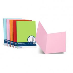 Cartellina semplice FAVINI FOLDER S cartoncino Simplex Luce&Acqua 200 g/m? 25x34cm scarlatto 61 conf.50 - A50C664