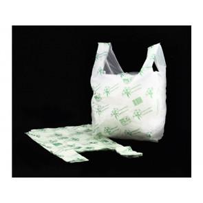 Shopper NESSUNO in mater-bi biodegradabile VERDE