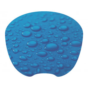 Tappetino mouse Q-Connect 21,2x17,2 cm Design Raindrop KF04559