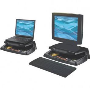 Supporto per monitor Q-Connect 37x23,5 cm nero KF04553