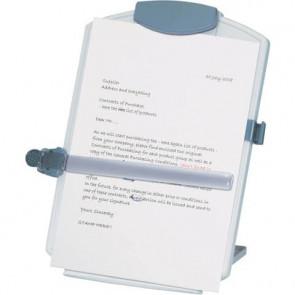 Leggio per computer Q-Connect A4 grigio chiaro KF04521