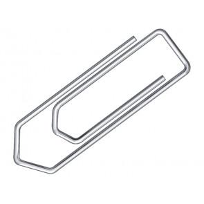 Fermagli Q-Connect filo d'acciaio nichelato 20 mm