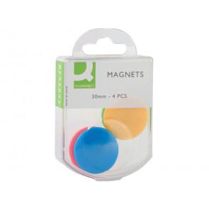 Magneti per lavagne bianche Q-Connect 30 assortiti 30 mm