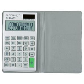 Calcolatrice solare da tasca Q-Connect 12 cifre