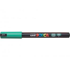 Marcatore a tempera POSCA Uni-Ball punta tonda 0,7 mm verde scuro