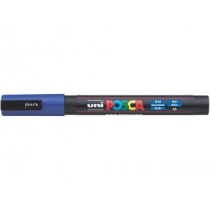 Marcatore a tempera POSCA Uni-Ball punta tonda 0,9-1,3 mm blu scuro