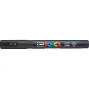 Marcatore a tempera POSCA Uni-Ball punta tonda 0,9-1,3 mm nero