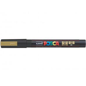 Marcatore a tempera POSCA Uni-Ball punta tonda 0,9-1,3 mm oro