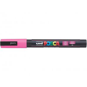Marcatore a tempera POSCA Uni-Ball punta tonda 0,9-1,3 mm rosa