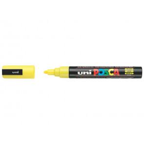 Marcatore a tempera POSCA Uni-Ball punta tonda 1,8-2,5 mm giallo