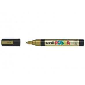 Marcatore a tempera POSCA Uni-Ball punta tonda 1,8-2,5 mm oro
