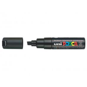 Marcatore speciale POSCA punta a scalpello 8 mm nero