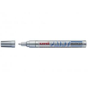 Marcatore permanente PAINT punta conica 2,8 mm argento M PX20 ARG