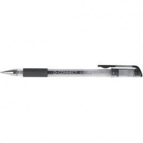 Penna a sfera inchiostro gel Q-Connect con cappuccio nero KF21716