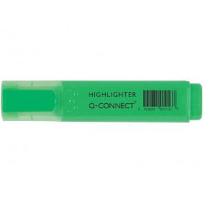 Evidenziatore Q-Connect 1,5-2 mm verde