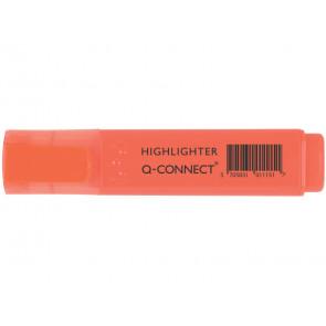 Evidenziatore Q-Connect 1,5-2 mm arancio