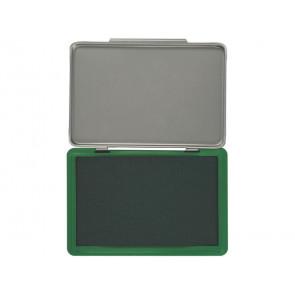 Cuscinetto per timbri Q-Connect 11x7 cm verde