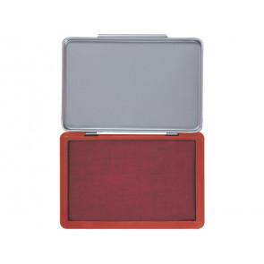 Cuscinetto per timbri Q-Connect 11x7 cm rosso