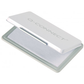 Cuscinetto per timbri Q-Connect 11x7 cm incolore