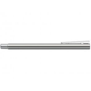Penna Stilografica Faber-Castell Neo Slim M metallo cromato