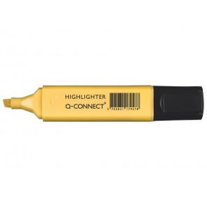 Evidenziatore Pastel Q-Connect 1,5-2 mm giallo