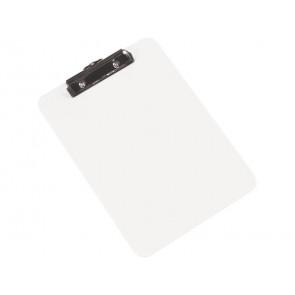Portablocco con molla Q-Connect A4 trasparente