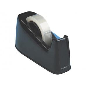 Dispenser per nastro da scrivania Q-Connect nero 25 mm x 33/66 m