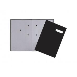 Libro firme Q-Connect 20 pagine 24x35 cm nero