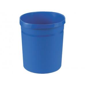 Cestino gettacarte GRIP 18L HAN in polipropilene con 2 impugnature blu