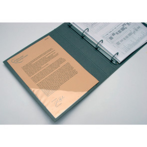 Tasche adesive triangolari Q-Connect trasparente 10x10 cm