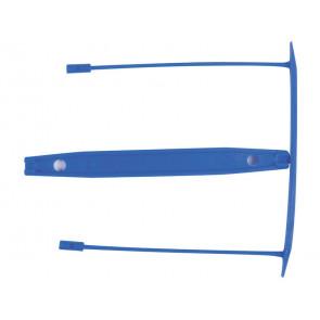 Clip fermafogli Q-Connect blu passo 8 cm