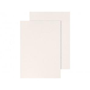 Copertina per rilegatura Q-Connect A4 250 g/m? bianco goffrato conf. 100 pezzi - KF00502
