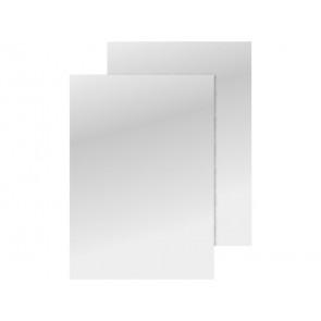 Copertina per rilegatura Q-Connect A4 250 g/m? bianco lucido conf. 100 pezzi - KF00498