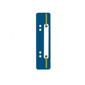 Pressini fermafogli adesivi Q-Connect 34x150 mm blu