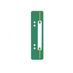 Pressini fermafogli adesivi Q-Connect 34x150 mm verde