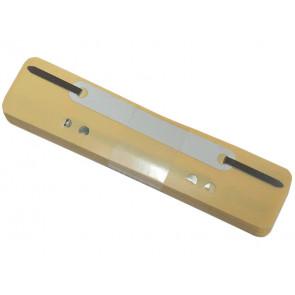 Pressini fermafogli adesivi Q-Connect 34x150 mm giallo