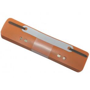 Pressini fermafogli adesivi Q-Connect 34x150 mm arancio