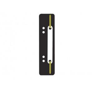Pressini fermafogli adesivi Q-Connect 34x150 mm nero