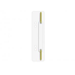Pressini fermafogli adesivi Q-Connect 34x150 mm bianco