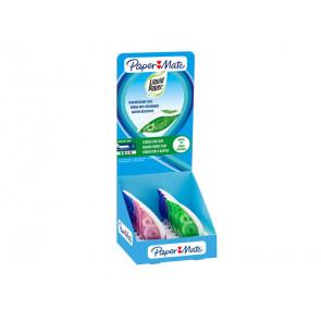 Correttore a nastro Liquid Paper Dryline Grip 5 mm x 8,5 mt assortiti