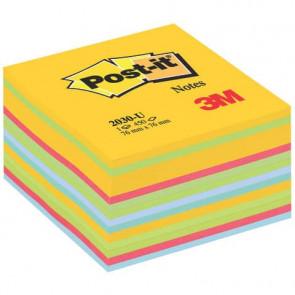 Foglietti riposizionabili colorati Post-it? Notes Cubo Neon assortiti 2030 U