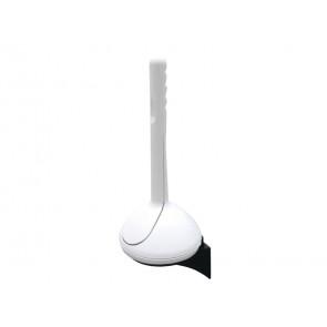 Scopino WC in ABS QTS 16,5x16,5x36 cm bianco