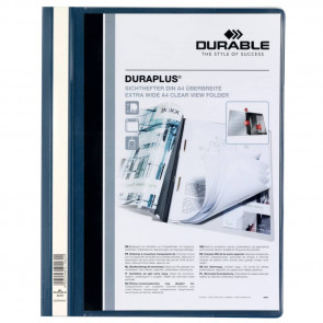 Cartellina ad aghi DURABLE DURAPLUS? A4 blu 257907