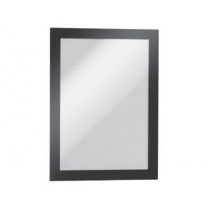 Cornici con pannello magnetico DURABLE DURAFRAMEAGNETIC A5 PVC rigido nero