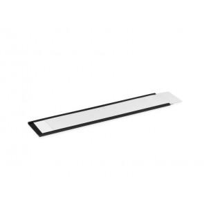 Porta etichette magnetici DURABLE C-PROFILE 40 antracite Lunghezza 200 mm