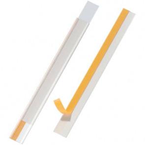 Portaetichette adesivi DURABLE SCANFIX 20 polipropilene trasparente 20x200 mm conf. 5 - 802319