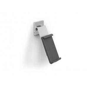 Porta tablet da muro DURABLE con braccio ad angolazione variabile argento