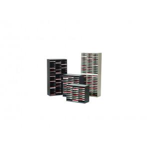 Smistamento corrispondenza Paperflow sistema a 24 scomparti grigio