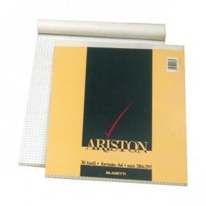 Blocchi punto metallico ARISTON Blasetti A5 bianco 70 ff 1068 (conf.10)