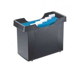 Portacartelle sospese Leitz Mini File Plus in polistirolo A4 nero 19930395